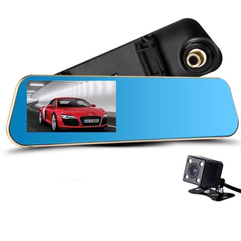 Hindly Night Vision Car Camera Car Dvr Review Mirror Digital Video Recorder Registrator Camcorder FHD 1080P