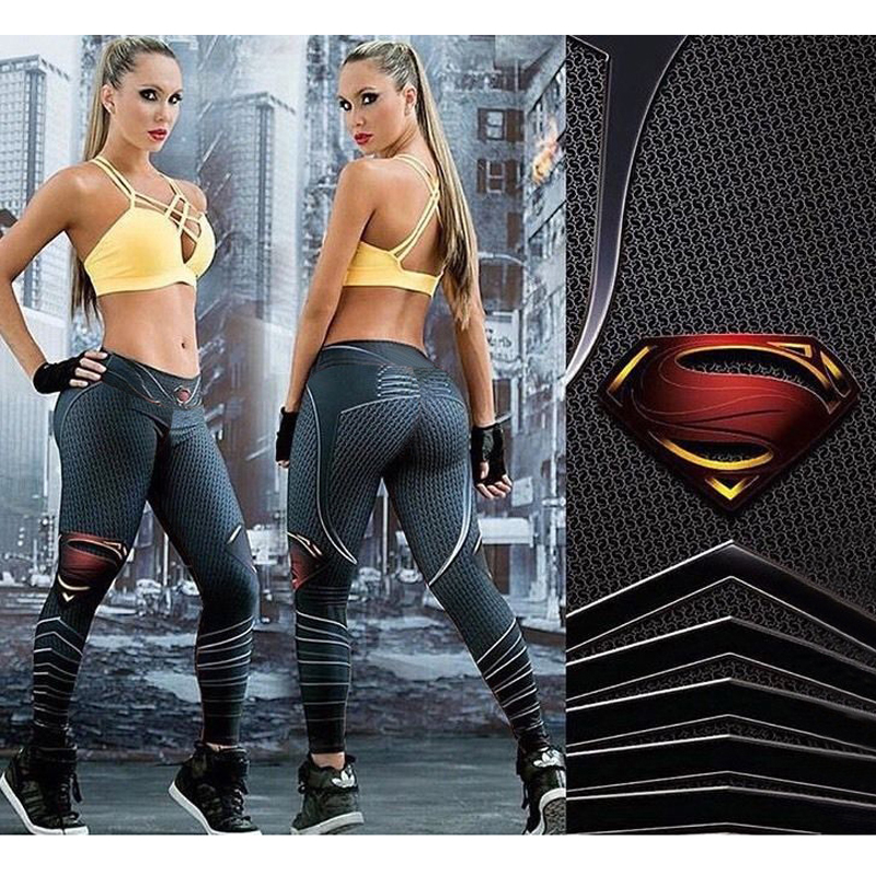 Women Compression Yoga Pants Spandex Exercise Pant Gym Sportswear Workout Fitness <font><b>Slim</b></font> Tights Running Leggings Jogging Trousers