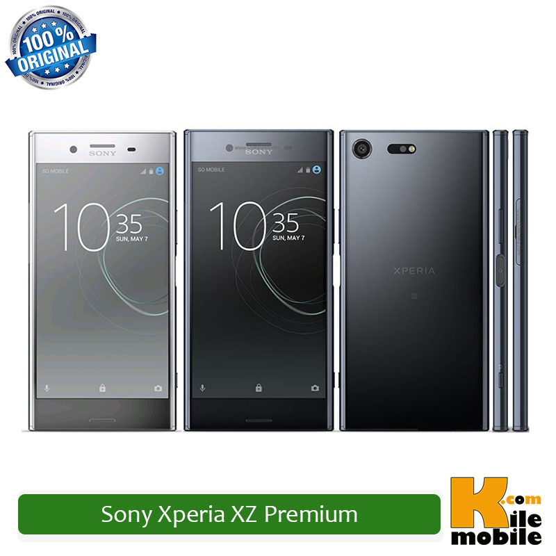 "Original Sony Xperia XZ Premium G8142 5.46"" inch 4GB RAM 64GB ROM 19MP Snapdragon 835 Dual Sim LTE Smartphone"