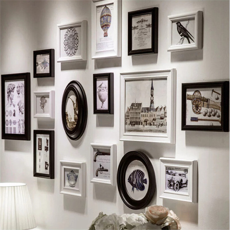 cheap photo frames romantic art home decor set creative combination wall photo frame set family party photo album picture frames in frame from home garden