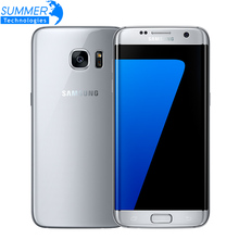 Original Samsung Galaxy S7/S7 Edge Waterproof 4G LTE Mobole Phone 5.1 inch 4GB RAM 32GB ROM Quad Core NFC GPS 12MP Cell Phones