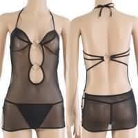черный уплотнение уникальный стиль женское белье женская шерсть белье дамы Пэм струны металлические кольца crust