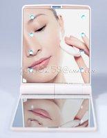 6 шт./лот бесплатная доставка новинка косметическая макияж зеркало двусторонняя с 8 stood Funk красота мода Сделай сам инструмент