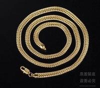 60 см длинные цвет золота цепи для мужчин мужская мода ювелирные изделия новая мода высокого качества