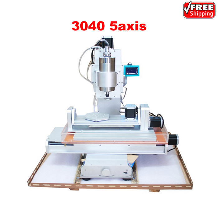 cnc 3040 5axis wood router ball screw table column type woodworking engraving drilling machine for metal new arrival 5 axis cnc machine pillar cnc 3040 engraving machine ball screw table column type woodworking cnc router lathe