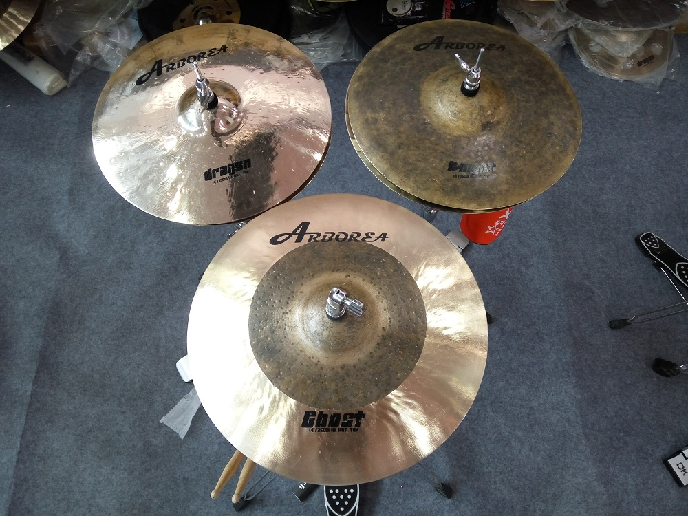 "14""hihat+16""crash+20""ride+cymbal Ghost set: bag"