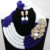 Exclusivo 4 Capas de Novia Blanco y Azul Africano Completo Collar de La Joyería Conjunto de Boda Nigeriano Perlas 2017 Envío Gratis WA889