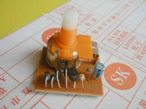 Free Shipping!! 10pcs Dimming circuit board / switch potentiometer / lamp dimmer board / ...