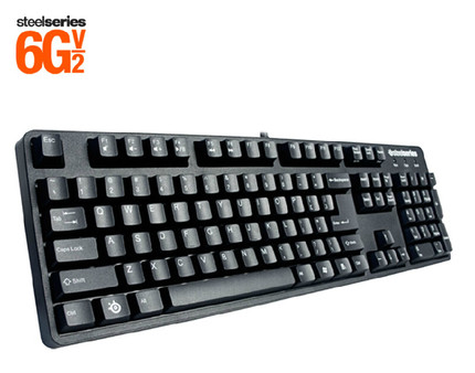 100%Original Steelseries 6G v2 mechanical keyboard with the retail box