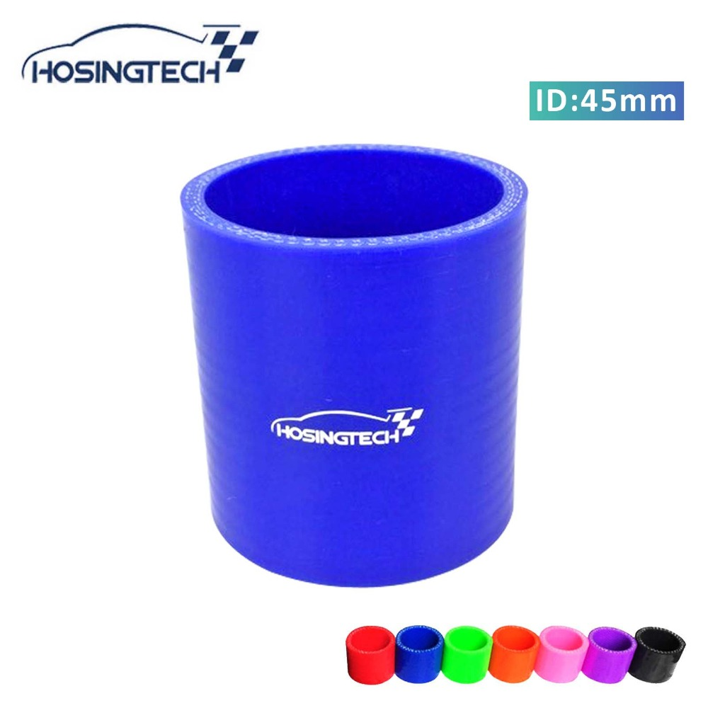 """Blue Elbow 2.5/"""" 63mm 4-ply Silicone Coupler Hose Turbo Intake Intercooler Ford"""