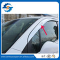 Excellent Quality Plating Car Window Visor Wind Deflector Sun Rain Guard Defletor For Trax