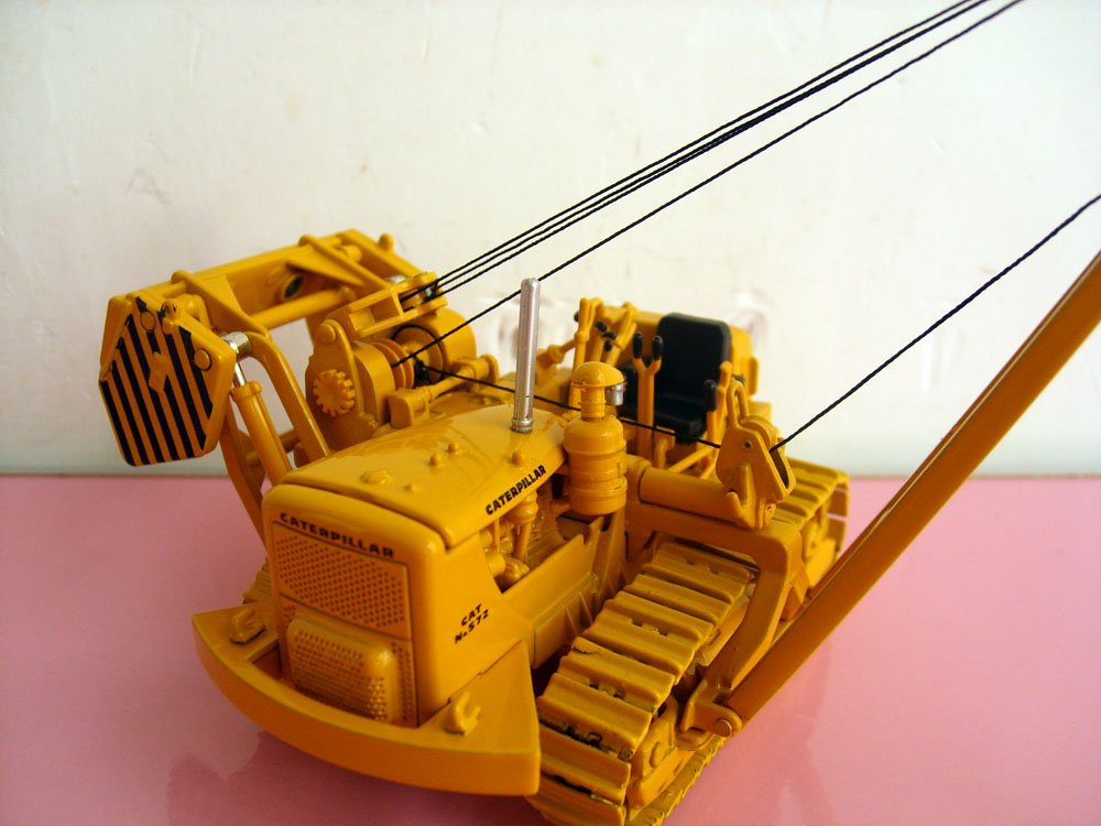 1:50 NORSCOT 55210 Cat 572C трубоукладчик с металлическими гусеницами игрушка