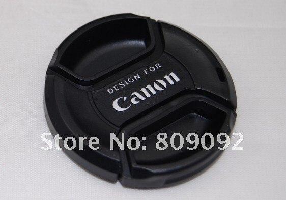 Универсальная передняя крышка объектива 55 мм с ремешком для Canon