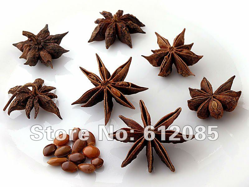 NEW1000g Chinese star anise Star Anise Pod Spice Herb Herbal