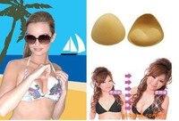 10 пара мягкий бикини купальный костюм пуш-ап пуш-ап съемный бюстгальтер колодки сексуальный женщины леди комплект бесшовный