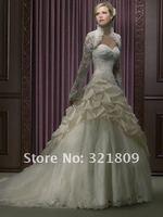 высокое качество мод платье SAL, kruger кот болеро свадебные куртки
