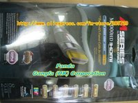 бесплатная доставка видео кабель, кабель верхнего сегмента HDMI кабель, оригинал для м2000 через HDMI кабель 2.43 м / 8 Foot с крыльца коробке модеры