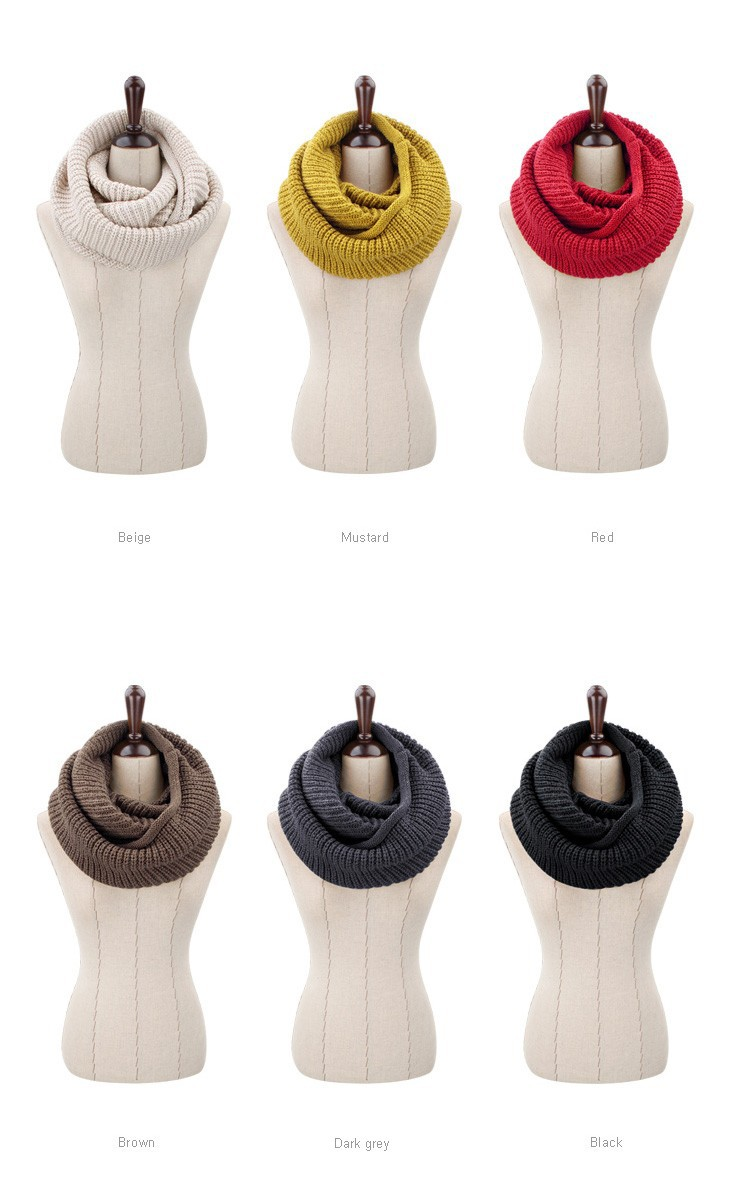 Wool Collar Neck Warmer   Neck Scarves   Up to 60% Off Now