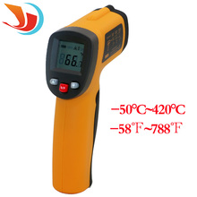 Professional font b Digital b font LCD Infrared font b Thermometer b font Non contact IR