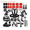 42 in 1 Action Camera Accessory Kits  Chest Head Strap Bicycle Mount for xiaomi yi 4K action sports camera