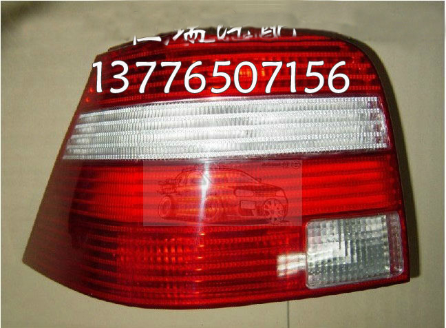 ФОТО 2017 Sale New Arrival Golf 4 Red&white Car Tail Light Rear Lamp For Vw Golf Mk4