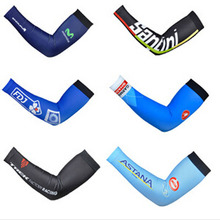 Tour de France Team Edition Arm Sleeves Cycling Arm Warmer Cooling Running Sun Protection Cuff Cover
