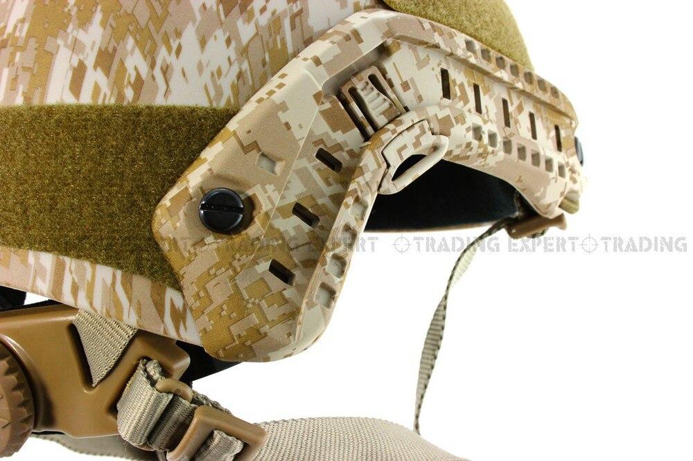 Emerson мотоциклетный шлем страйкбол быстро База прыжок шлем(Marpat Пустыня) em5658e