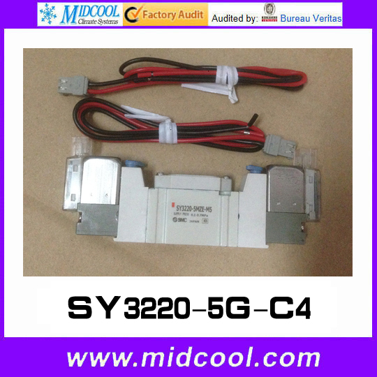 5 way pilot solenoid valve SY3220-5G-C4 dhl ems 5 new for pro face touchscreen glass agp3300 l1 d24 f4