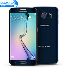 "Original Samsung Galaxy S6 G920F G925F Edge 5.1 ""Octa Core 3 GB RAM 32 GB ROM 16MP GPS NFC Desbloqueado Restaurado Teléfono Móvil"