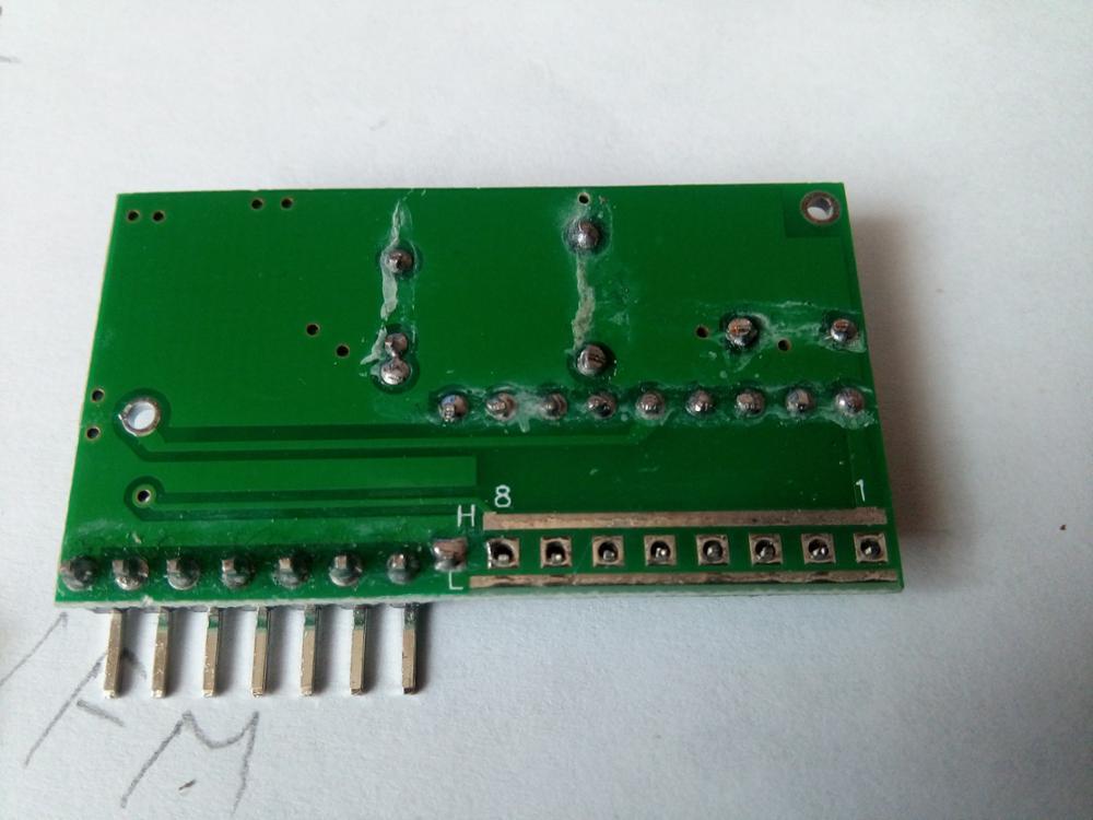 Пришло быстро, до Иркутска 1 мес.  В пульте есть батарейки, кварц на 315мГц. Пайка хорошая. Положили ещё 3 светодиода  бел., кр. и жел. Есть не пропаянные контакты  в пульте и приемнике (от 1до8)...  Скорей всего это для программирования восьмизначного кода кода L-0 а H-1 (должны быть одинаковыми там и там). С виду очень качественно.  В заказе шел номер не международный, в реале прошел с междун-м (с отслеживанием). В ОБЩЕМ ВСЕМ СОВЕТУЮ!!! Проверю отпишусь.