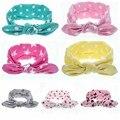 New Fashion Children cute cotton baby bow headband elastic headband baby hair accessories headdress