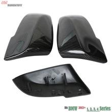 F21 F30 углеродного волокна замена заднего вида боковую дверь боковое зеркало крышка сзд для BMW GT F31 F34 F20 F21 F23 F32 F33 F36 X1 E84