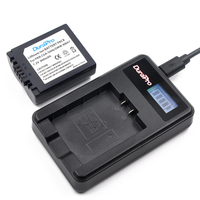DuraPro DMW BMA7 CGA CGR S006E S006GK Lithium Battery LED LCD Charger For Panasonic Lumix DMC