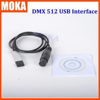 USB To DMX 512 Interface Adapter LED DMX512 Computer PC Stage Lighting Controller Dimmer Dongle Controller