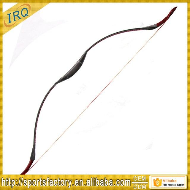 1 шт. 55lbs традиционный большой лук ручной работы изогнутый для стрельбы из лука охотничий лук