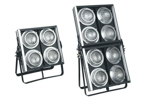 Professional 8 Eyes audience blinder/led audience light 5200w lamp with 8pcs 650w big power lamp dj/party /disco /stage light audience response towards television advertisements