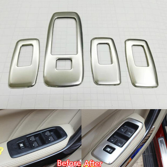 Online Shop YAQUICKA 4Pcs Auto Car Interior Armrest Window Adjust ...