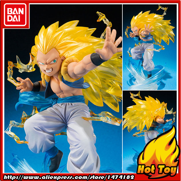 100% Original BANDAI Tamashii Nations Figuarts ZERO Action Figure - Gotenks Super Saiyan 3 from Dragon Ball Z cmt original bandai tamashii nations s h figuarts shf dragon ball db kid son gokou action figure anime figure pvc toys figure