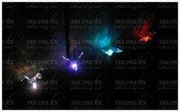 t2012010007 солнечный сад свет лампы, красочные птицы газон лампы, бесплатная доставка
