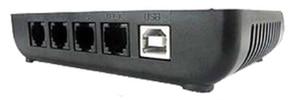 Image 2 - 2 ערוץ קול הופעל, USB טלפון מקליט, צג טלפון, 2 יציאות, USB טלפון צג