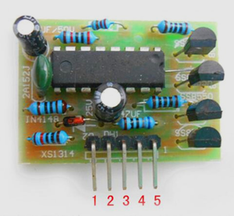 74HC595 2Bit 2-Digit LED Nixie Tube Display Module 3.3V-5V Digital Tube New