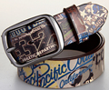 Popular Style Digital Printing Leather Belt Cowskin Belt Straps Man Woman Unisex Carton Letter Printed Cool Young Fashion Belts