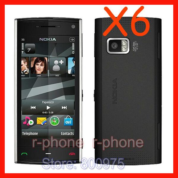 refurbished nokia x6 cellphone original unlocked 3g gsm mobile phone rh aliexpress com Nokia X6 Software X6 Nokia Phone