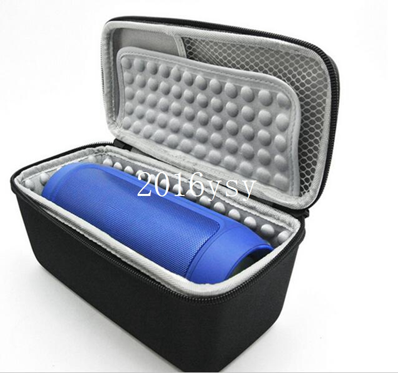Protective Storage Box EVA Travel Case For JBL Charge 2 Portable Wireless Bluetooth Speaker &Wall Charger&Charging Cradle