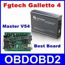 Maestro V54 Fgtech Galletto 4 Viruta del ECU Unlock Versión FG Tech Herramienta de adaptación de la Función BDM Programador Para Añadir OBD Del Coche Del Carro Motor