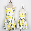 207 vestido de verano vestidos de madre e hija madre e hija familia mirada de la muchacha y vestido de la madre mommy and me ropa de marca