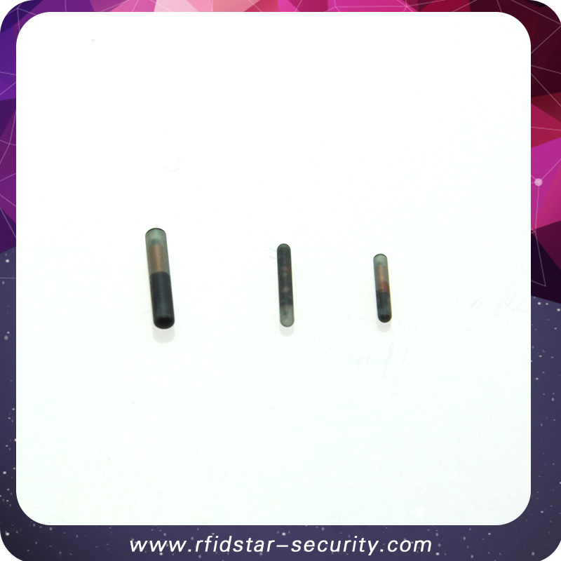 50PCS/Lot ISO11784/785 134.2KHz Animal glass tag 2.12*12mm EM4305 RFID microchip transponder 50pcs lot fr9220