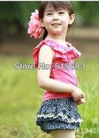 в розницу девушки детские детская одежда ярко розовый т + 2 шт. чудик комплект 1-6 лет топ брюки распродажа russ комплект с шорты новый подарок на день рождения