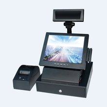 12 inch cheaper retail all in one pos system touch cash register restaurant pos system restaurant equipment