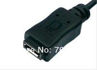 кабель USB тип а, розеточный к микро-USB типа B мужской хост OTG кабель + микро USB женский кабель питания
